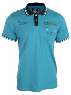 Mens Dissident Firefly Short Sleeved Polo T Shirt Jersey