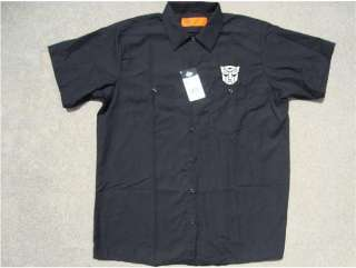Transformers Autobots Dickies Button Up Work Shirt New With Tags