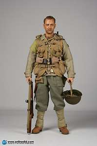 WWII U.S. Army 2nd Ranger Battalion Captain Millers 1/6 action figure