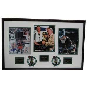 Sports Images Boston Celtics Larry Bird, Robert Parish