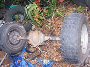 MAZDA B4000 PICK Up Truck Rear Axle Differential 1999