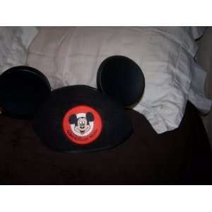 New Disney Mickey Mouse Club Mouseketeer Hat Everything