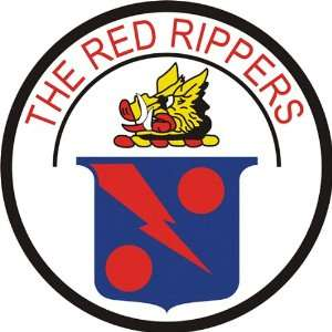 US Navy VF 11 Red Rippers Squadron Decal Sticker 5.5