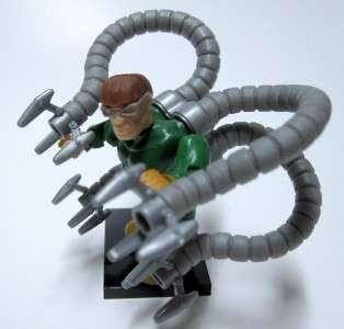 MARVEL MEGA BLOKS DOC OCK MINI FIGURE Complete Mint Lego Compatible