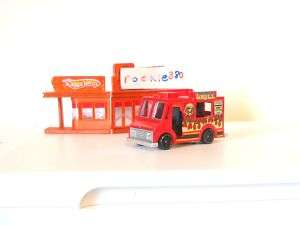 Loose Hot Wheels 2011 Ice Cream Truck HW City Works RED