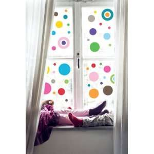 Dotty Window Art Removable Decals Stickers