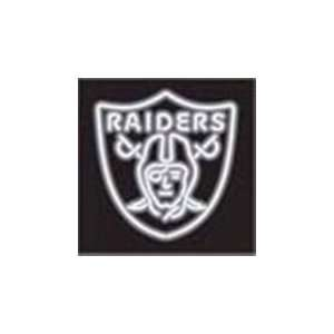 NFL Oakland Raiders Logo Neon Lighted Sign: Sports & Outdoors