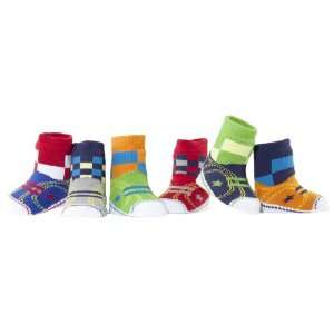 Elegant Baby 6 Pair Joeys High Top Athletic Shoe Socks