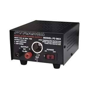Pyramid 5 Amp Regulated Power Supply W/ Dc Jack Perfect For Home Shop
