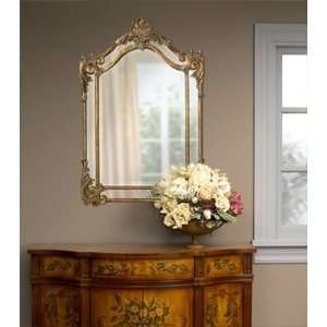 Ornate Baroque Extra Large Arch Top Wall Mirror Luxe: Home & Kitchen