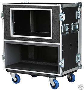 ATA CASE FOR Randall V2 Head with 4 SPACE RACK 3/8 Ply