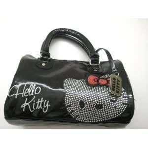Hello Kitty Stylish Black Boston Bag