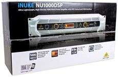 Behringer iNuke NU1000DSP Rack Mount 1000 Watt Power Amplifier Amp w