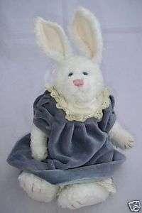 Boyds Collection J B Bean Plush BUNNY Rabbit Dress 1999