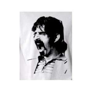 Frank Zappa b/w   Pop Art Graphic T shirt (Mens Large)