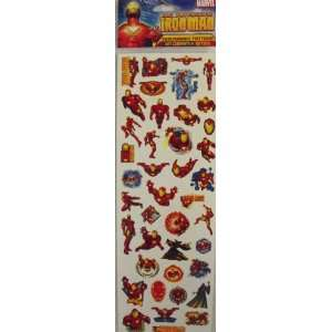 The Invincible Iron Man Temporary Tattoos Toys & Games