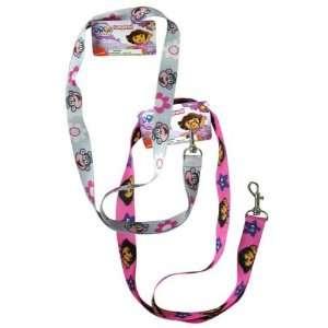 Dora The Explorer Lanyard Badge Holder   Pink Office