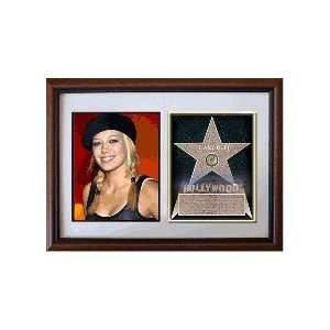 Hillary Duff 8 x 10 Custom Framed Hollywood Stars
