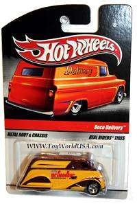 2010 Hot Wheels Sweet Rides Deco Delivery Mr. Goodbar