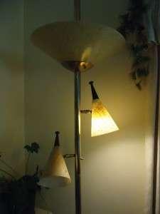 50s Vtg Mid Century DANISH Modern EAMES ERA Retro Pole Lamp
