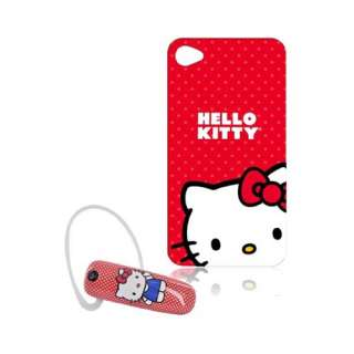 Item Hello Kitty Bundle Red Case Red Bluetooth For AT&T Apple iPhone