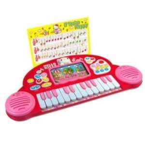 Hello Kitty Toy Electric Piano Toys & Games
