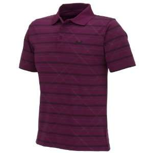 Under Armour Mens Embossed Stripe Polo Shirt