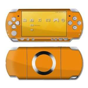 State Orange Design Skin Decal Sticker for the PS3 Slim Electronics