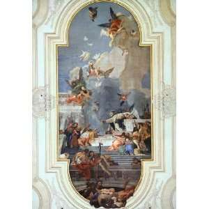 Hand Made Oil Reproduction   Giovanni Battista Tiepolo   32 x 46