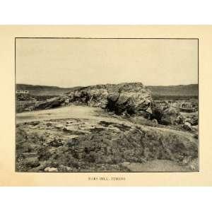 1903 Print Areopagus Mars Hill Athens Greece Areios Pagos