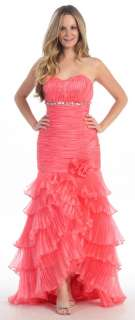 New Mermaid Evening Pageant Dress Prom Engagement Party