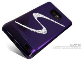 Swarovski Bling Crystal Luxury Hard Case Cover for SAMSUNG GALAXY S2 S