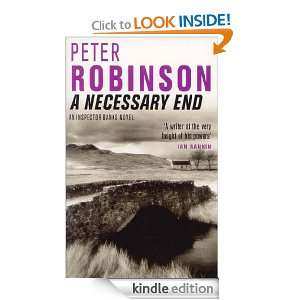 Necessary End (Inspector Banks Mystery): Peter Robinson: