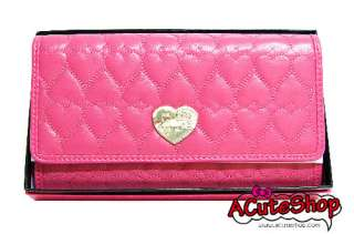 Hello Kitty Paten Long Wallet Pink Japan Sanrio