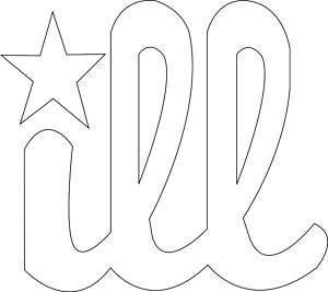 Philadelphia PHILLIES ill DECAL Bumper Sticker ILL Logo