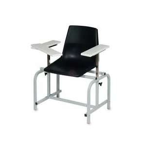 Products   Blood Drawing Chair, 26x24x37, 300 lb Capacity, Black