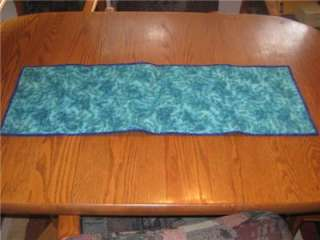 Handmade Table Runner tropical Fish Aquarium Quilted