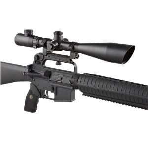 Guide Gear Long   range Tactical 10   40x50 mm Scope Matte