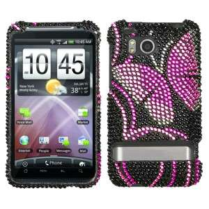Fairyland Crystal Diamond BLING Hard Case Phone Cover for HTC