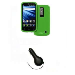 Cover + Retractable Car Charger (CLA) [EMPIRE Packaging] Electronics