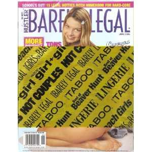 BARELY LEGAL JUNE 2005 HUSTLER MAGAZINE BARELY LEGAL JUNE 2005 Books