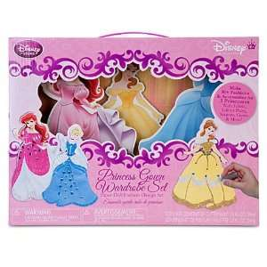 Fashion Design Disney Princess Paper Doll Set Toys