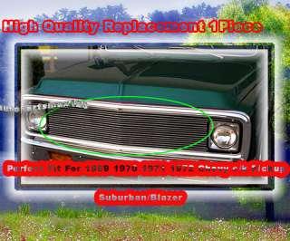 1969 1970 1971 1972 chevy c k pickup suburban blazer billet grille
