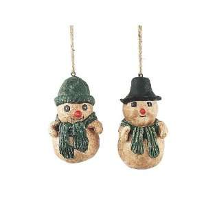 Pack of 24 Candy Crush Jolly Snowman Christmas Ornaments 4