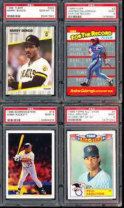 1989 Topps All Star 3 Paul Molitor Brewers HOF PSA 9