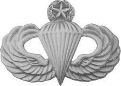 Master Paratrooper Jump Wing Badge 1 1/2 GI ISSUE