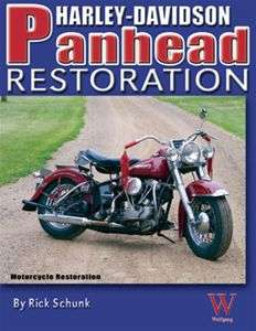COMPLETE NEW HARLEY PANHEAD RESTORATION MANUAL