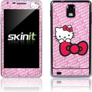 Skinit Hello Kitty Pink Bow Peek Vinyl Skin for samsung