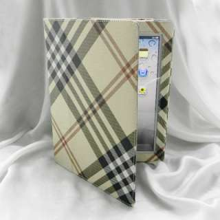 Oxford Flip Leather Smart Cover Jacket Case for iPad 2