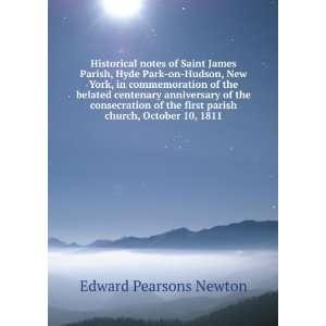 first parish church, October 10, 1811: Edward Pearsons Newton: Books